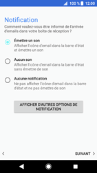 Sony Xperia XZ1 - E-mail - 032c. Email wizard - Outlook - Étape 14
