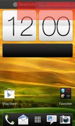 HTC One SV - Startanleitung - Installieren von Widgets und Apps auf der Startseite - Schritt 7