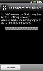 HTC Desire HD - Apps - Konto anlegen und einrichten - 2 / 2