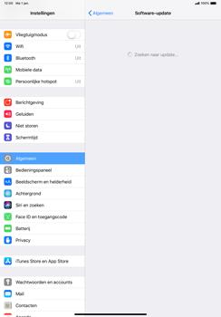Apple ipad-pro-11-inch-2018-model-a1934 - Software updaten - Update installeren - Stap 5