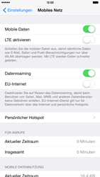 Apple iPhone 6 Plus - Ausland - Im Ausland surfen – Datenroaming - 7 / 9
