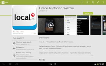 Sony Xperia Tablet Z LTE - Applicazioni - Installazione delle applicazioni - Fase 7