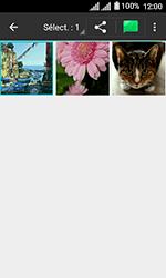 Alcatel U3 - Photos, vidéos, musique - Envoyer une photo via Bluetooth - Étape 6