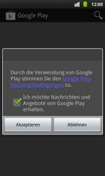 Samsung I9001 Galaxy S Plus - Apps - Konto anlegen und einrichten - Schritt 18