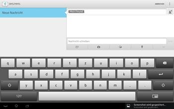 Sony Xperia Tablet Z LTE - MMS - Erstellen und senden - Schritt 11