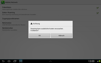 Samsung P5100 Galaxy Tab 2 10-1 - Ausland - Im Ausland surfen – Datenroaming - Schritt 9