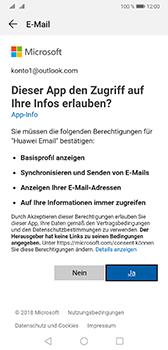 Huawei Mate 20 - E-Mail - Konto einrichten (outlook) - Schritt 7