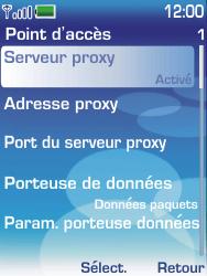 Nokia 6233 - Internet - configuration manuelle - Étape 10