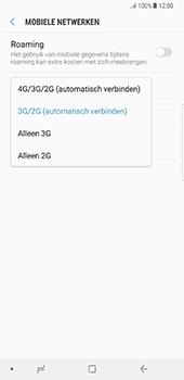 Samsung N950F Galaxy Note 8 - Netwerk - 4G activeren - Stap 7