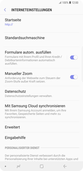 Samsung Galaxy Note9 - Internet - Apn-Einstellungen - 27 / 39