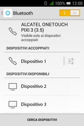 Alcatel Pixi 3 (3.5) - Bluetooth - Collegamento dei dispositivi - Fase 8