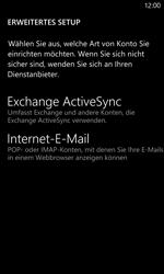 Nokia Lumia 820 / Lumia 920 - E-Mail - Manuelle Konfiguration - Schritt 8