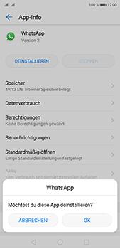 Huawei P20 Pro - Apps - Eine App deinstallieren - Schritt 7