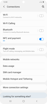 Samsung Galaxy S20 Plus 5G - Internet and data roaming - How to check if data-connectivity is enabled - Step 5