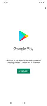 Samsung Galaxy S20 5G - Apps - Einrichten des App Stores - Schritt 4