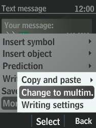 Nokia 301-1 - MMS - Sending pictures - Step 6