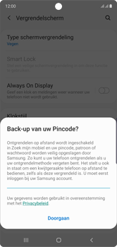 Samsung Galaxy Note10 - Beveiliging - stel in of wijzig pincode voor je toestel - Stap 12
