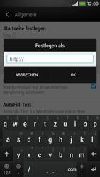 HTC Desire 601 - Internet - Manuelle Konfiguration - 25 / 28
