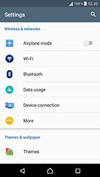 Sony Xperia XZ (F8331) - Network - Manually select a network - Step 4