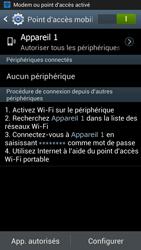 Samsung Galaxy Note 2 - Internet et connexion - Partager votre connexion en Wi-Fi - Étape 12