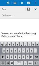 Samsung Galaxy Xcover 3 (SM-G388F) - E-mail - Hoe te versturen - Stap 5