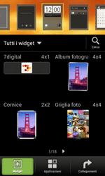 HTC One SV - Operazioni iniziali - Installazione di widget e applicazioni nella schermata iniziale - Fase 3