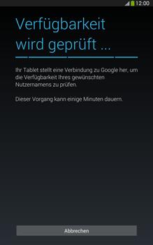 Samsung T315 Galaxy Tab 3 8-0 LTE - Apps - Konto anlegen und einrichten - Schritt 9