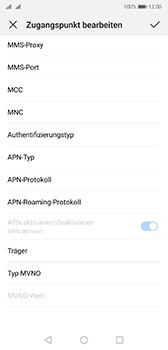 Huawei P20 - Android Pie - Internet - Manuelle Konfiguration - Schritt 15