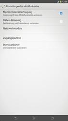 Sony Xperia Z Ultra LTE - Ausland - Im Ausland surfen – Datenroaming - 1 / 1