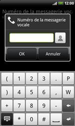 HTC A8181 Desire - Messagerie vocale - configuration manuelle - Étape 7