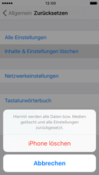 Apple iPhone SE - Fehlerbehebung - Handy zurücksetzen - 1 / 1