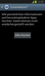 Samsung Galaxy S2 mit Android 4.1 - Fehlerbehebung - Handy zurücksetzen - 2 / 2