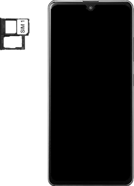 Samsung Galaxy A41 Dual-SIM (SM-A415F) - Instellingen aanpassen - SIM-Kaart plaatsen - Stap 4