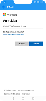 Huawei Honor Play - E-Mail - Konto einrichten (outlook) - Schritt 6