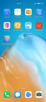 Huawei P40 Pro - Contact, Appels, SMS/MMS - Ajouter un contact - Étape 3