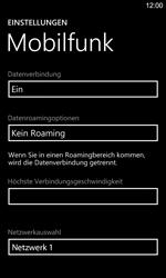 Nokia Lumia 925 - Netzwerk - Manuelle Netzwerkwahl - Schritt 8