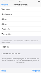 Apple iPhone 6 iOS 8 - Applicaties - Account aanmaken - Stap 24