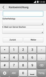 Huawei Ascend Y330 - E-Mail - Konto einrichten - Schritt 12