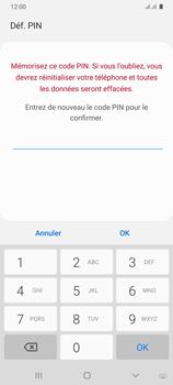 Samsung Galaxy A31 - Sécuriser votre mobile - Activer le code de verrouillage - Étape 10