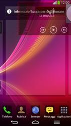 LG D955 G Flex - Operazioni iniziali - Installazione di widget e applicazioni nella schermata iniziale - Fase 8