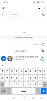 Huawei Y5 (2019) - Contact, Appels, SMS/MMS - Envoyer un MMS - Étape 12