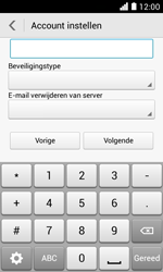 Huawei Ascend Y330 - E-mail - Handmatig instellen - Stap 11