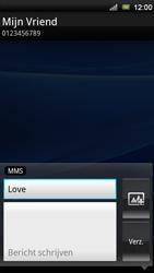 Sony Xperia Ray - MMS - Afbeeldingen verzenden - Stap 8
