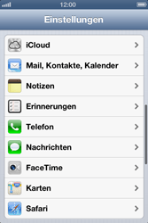 Apple iPhone 4 - E-Mail - Manuelle Konfiguration - Schritt 3