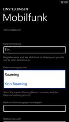 Nokia Lumia 1520 - Ausland - Im Ausland surfen – Datenroaming - 8 / 11