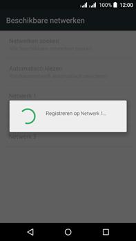Acer Liquid Z630 - Netwerk - Handmatig een netwerk selecteren - Stap 12