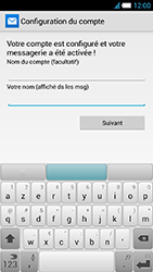 Alcatel One Touch Idol S - E-mail - Configuration manuelle - Étape 20