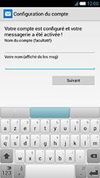 Alcatel One Touch Idol S - E-mail - Configuration manuelle - Étape 20