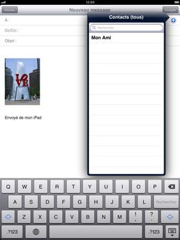 Apple iPad mini - E-mail - envoyer un e-mail - Étape 6