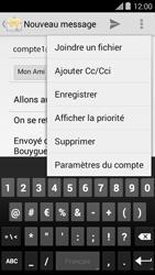 Bouygues Telecom Ultym 5 II - E-mails - Envoyer un e-mail - Étape 11